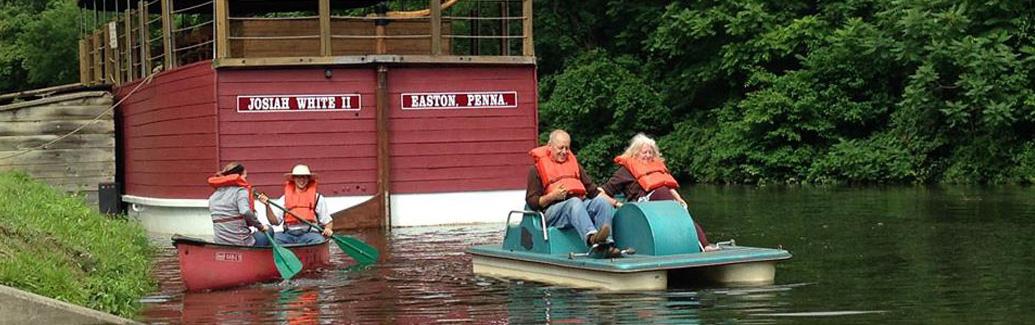 canoe-paddle-boats