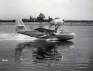seaplane on the Delaware River